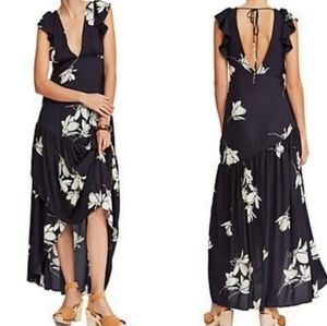 Free People She's A Waterfall Floral Maxi Dress